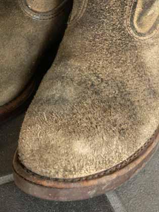 続・スエード靴の汚れ落とし ...