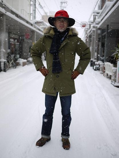 この冬いちばんの大雪です。で ... : 洋服予報 : すべての講義